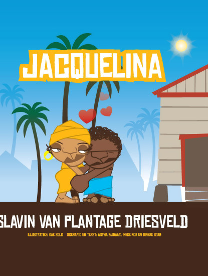 cover stripboek jacquelina
