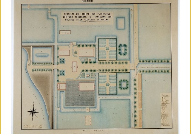 plantagekaart
