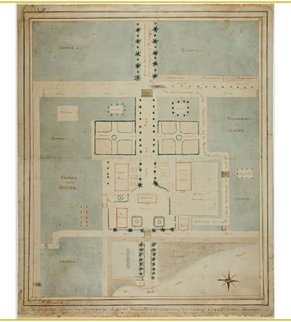 plattegrond plantage clifford