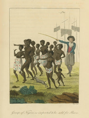 Stedman Group of Negros, as imported to be sold for Slaves