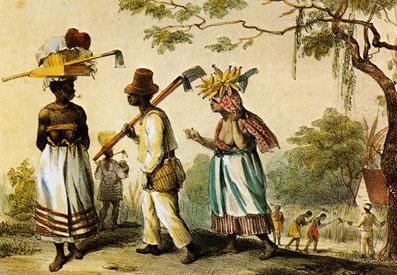 Afbeeldingsresultaat voor slaven werken op een plantage