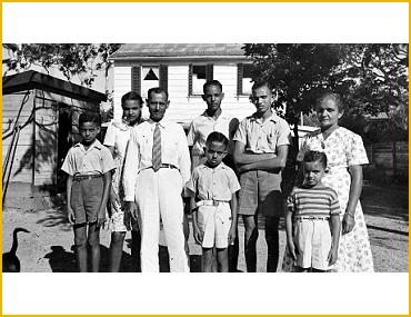 portret creoolse familie 1949 TM 10019359